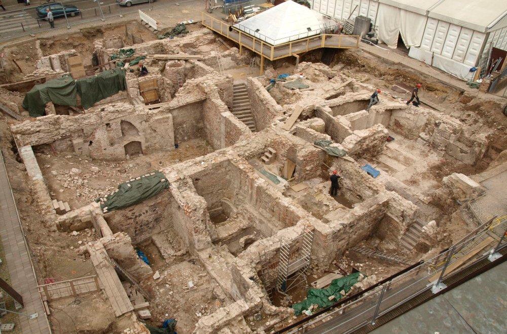 Ausgrabung des Goldschmiedeviertels