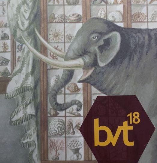 Elefant mit Logo der BVT 2018